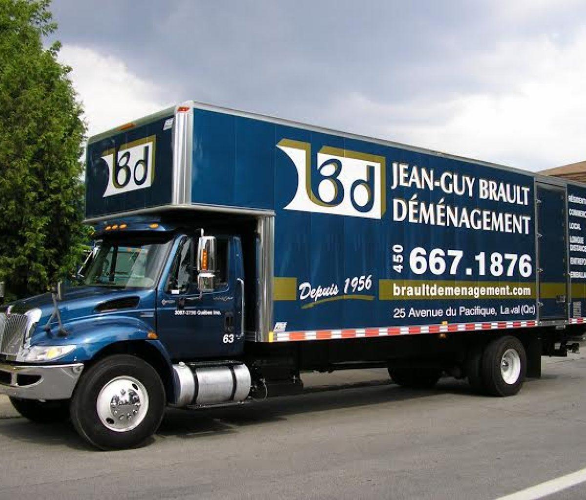 camion Brault Déménagement